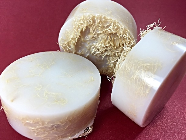 Sandalwood Luffa Soap