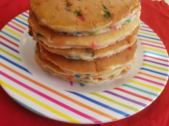 Confetti Bday Pancakes