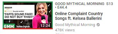 GMM and Kelsea Ballerini Online Complaints Country Songs