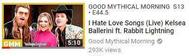 Kelsea Ballerini ft Rabbit Llightning Singing I Hate Love Songs