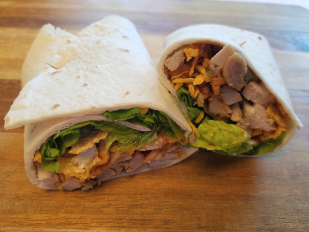 bbq chicken wrap 3