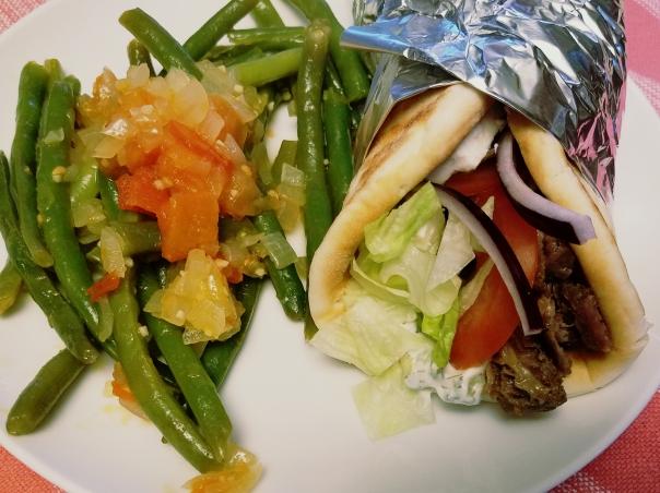 Beef Gyros with Tzatziki Sauce