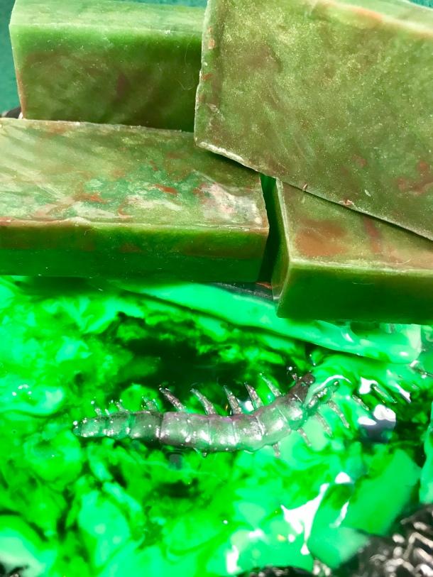 Swamp Slime Soap