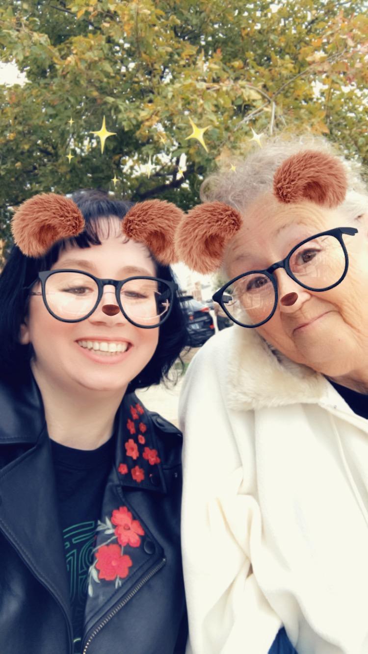 Mom and I Beary Happy