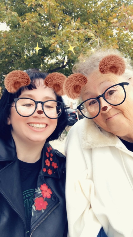 Mom and I Beary Happy